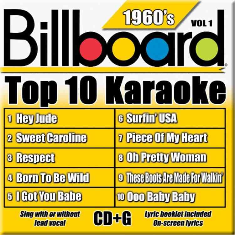 BILLBOARD TOP 10 KARAOKE:1960'S BY KARAOKE (CD)
